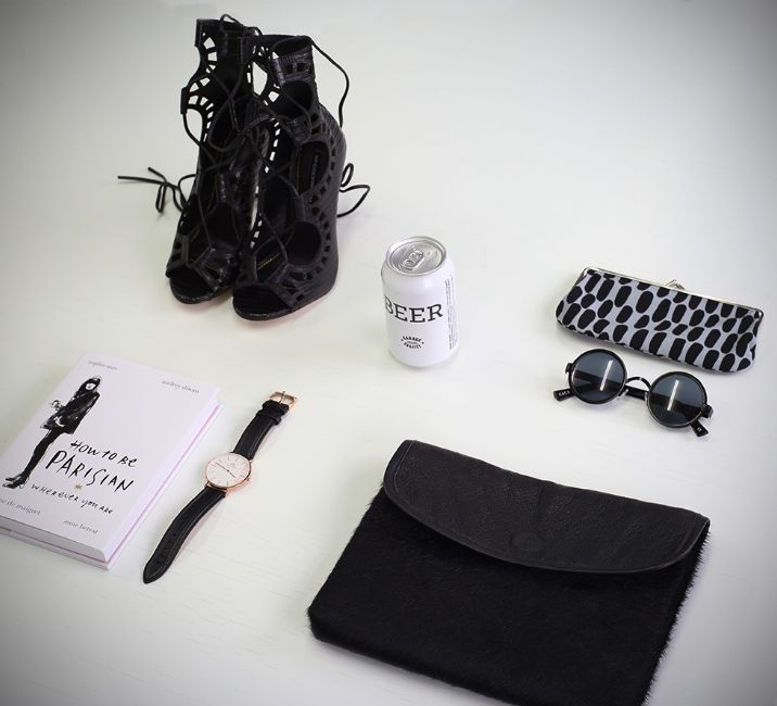 Black and White Vibes! #flatlay #womensfashion #windsorsmith