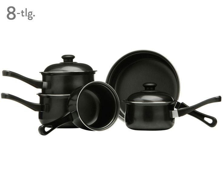 Kochen mit Leidenschaft! Das 8-teilige Kochtopf- und Pfannenset Lina aus schwarzem Karbonstahl ist der perfekte Küchenhelfer. Lassen Sie sich bei >> WestwingNow inspirieren.