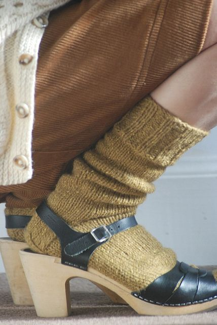 outfit 2 - socks + clogs   Flickr - Photo Sharing!