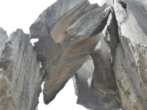 Stone Forest near Kunming in China