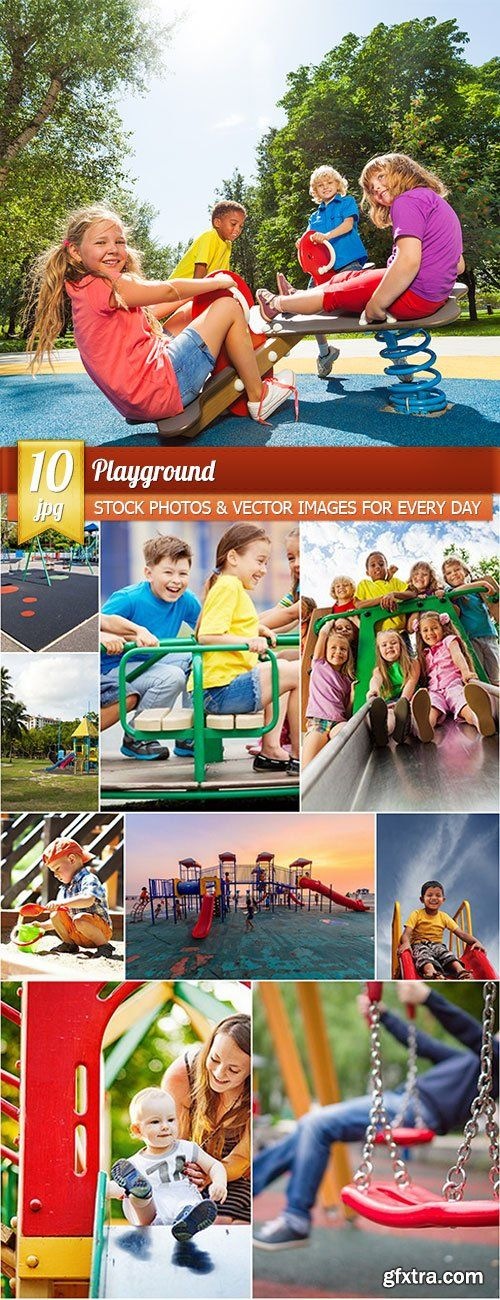 Playground, 10 x UHQ JPEG