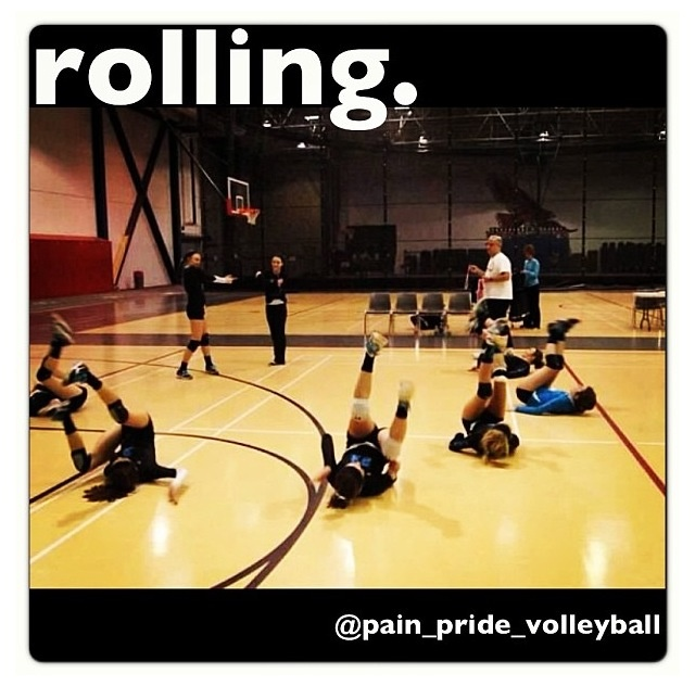 they see me rolling, they hatin.. #volleyball