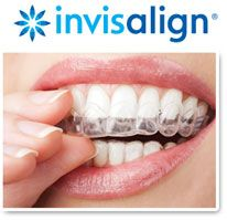 Our doctors are pleased to bring Invisalign™ invisible aligners to our patients. These innovative orthodontics will straighten teeth in as short a time as 9–15 months! They correct all the problems traditional braces do – crossbite, underbite, and overbite, as well as gaps and crooked and overlapping teeth.  With the aid of 3-D computer technology, we are able to outline an entire treatment plan, starting with the current position of your teeth and progressing to your gorgeous new smile.