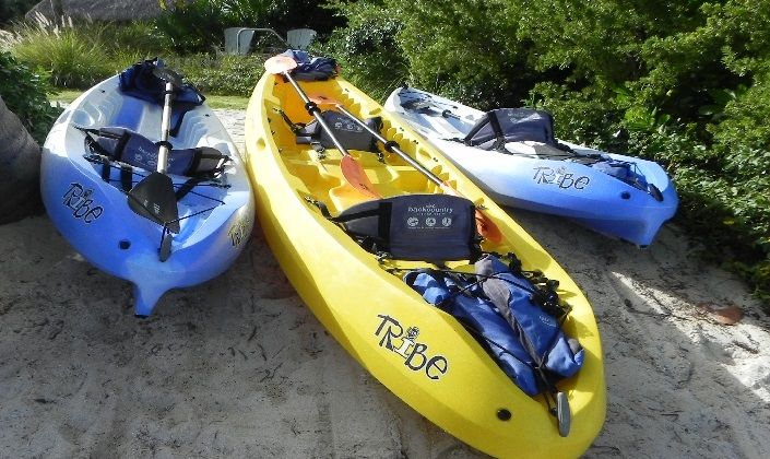 Take out our complimentary kayaks & snorkle gear and enjoy Islamorada from the water : Ocean House Resort
