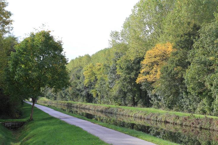 Canal du Nivernais, Sainte-Pallaye (Yonne 89)