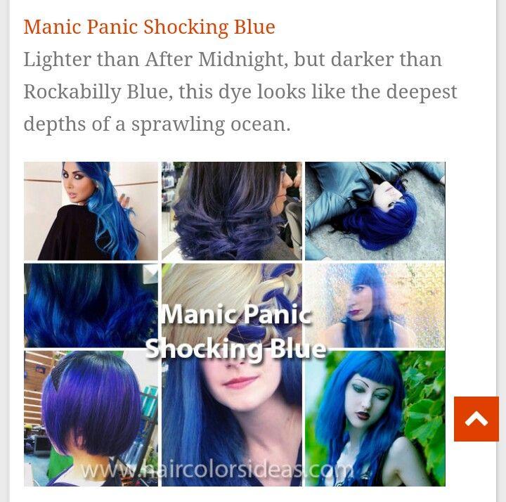 Shocking blue by Manic Panic