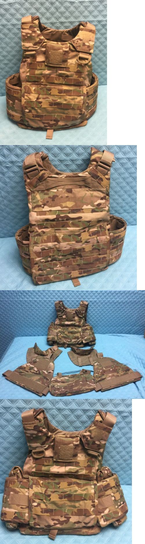 Chest Rigs and Tactical Vests 177891: New Medium Multicam Gen 4 Plate Carrier Qd Release Carter Ind. -> BUY IT NOW ONLY: $399.99 on eBay!