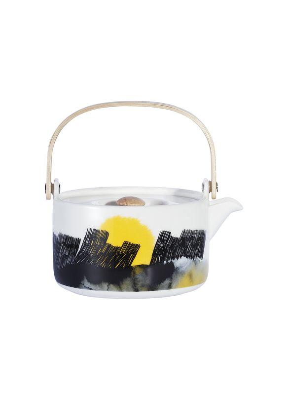 Marimekko´s Weather Diary Collection: Oiva teapot