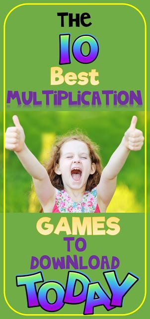 The 10 Best Multiplication Games to Download Today! FILLED with great links to activites and games to use in your classroom, or send home for homework...homework they will LOVE!