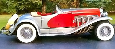 Only two 1936 Duesenberg SSJ Speedster models were ever built. See more classic car pictures.