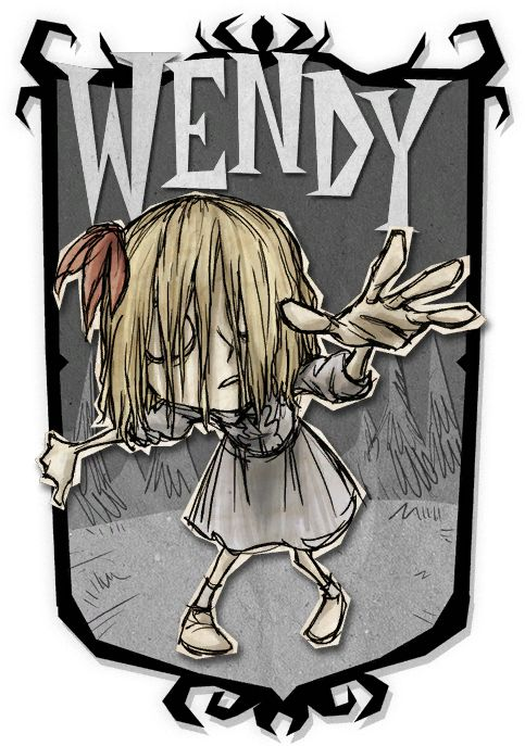 Wendy | Don't Starve Together Character Portraits