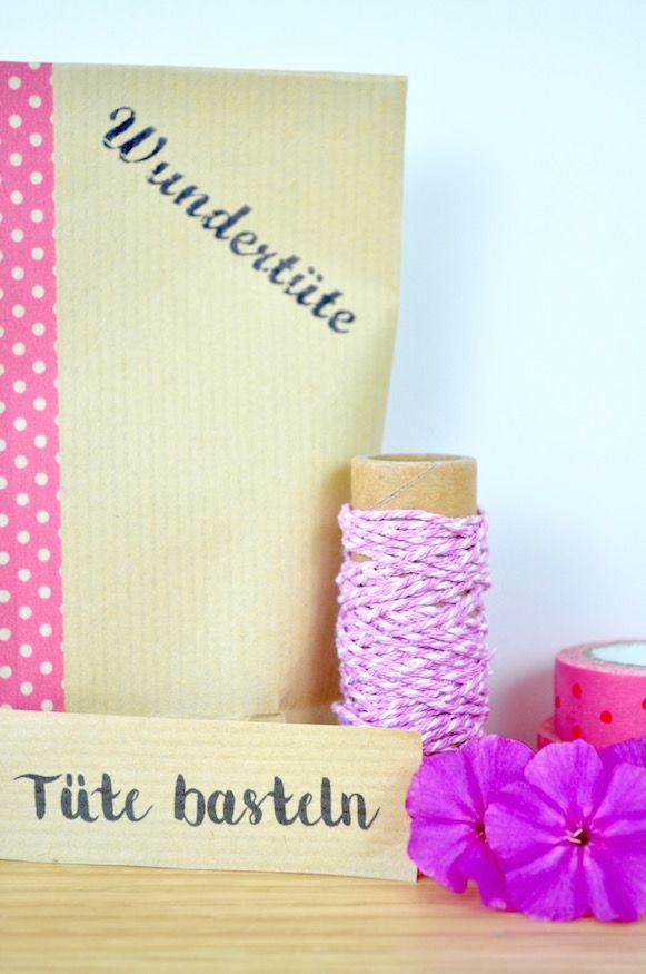 Tüte basteln - Anleitung von Fräulein Selbstgemacht