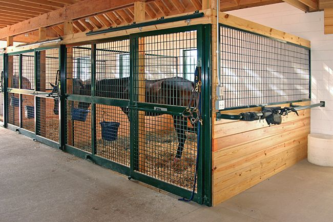 Horse Stall Design Ideas kentucky tobacco barn turned into horse barn lucas equine Horse Barns And Stalls Horse Stalls Free Standing Horse Stall Kits Horse Barn Pinterest Fronts Tacks