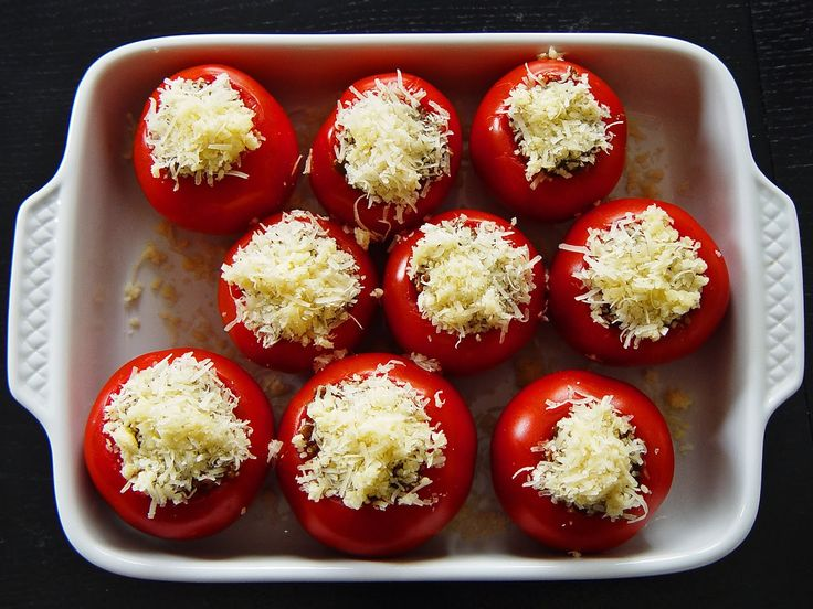 Stuffed Tomatoes - Diabetes Recipes