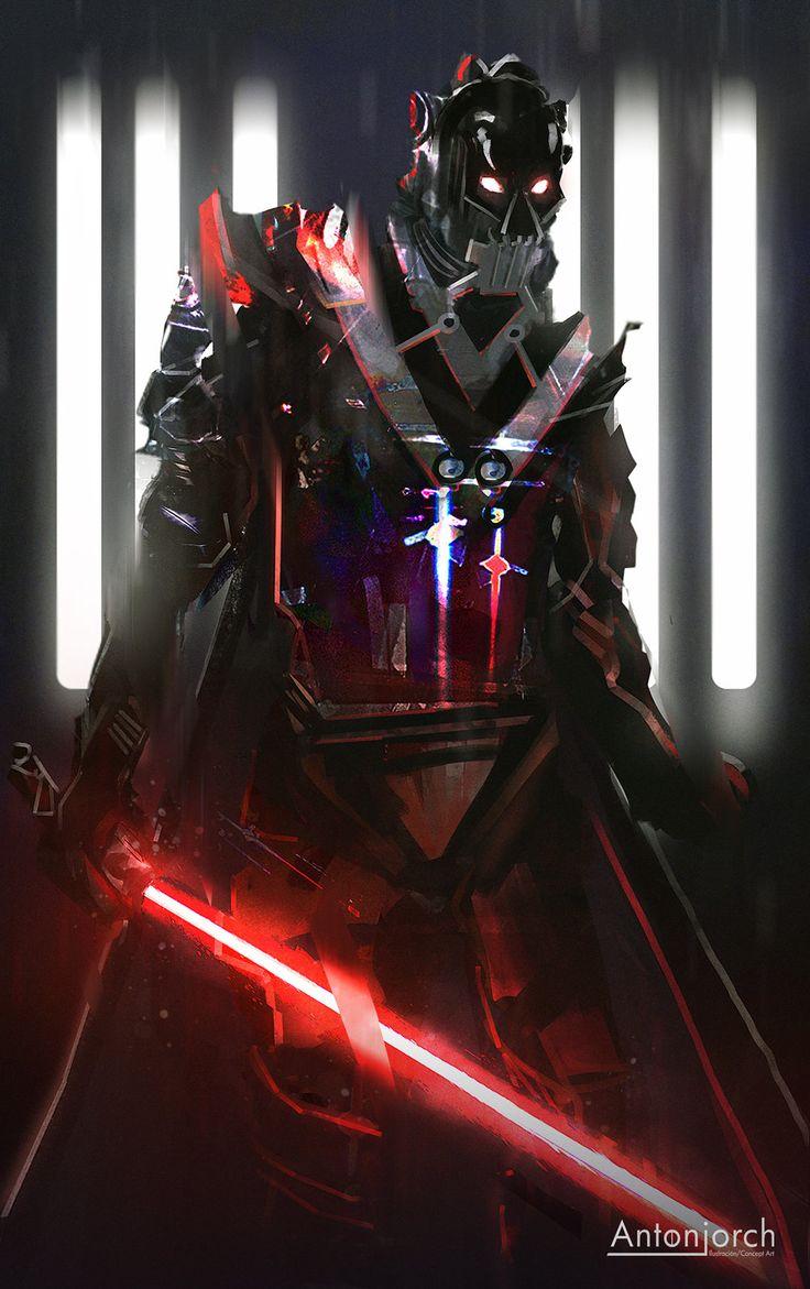 Vader 2, Jorge Gonzalez on ArtStation at https://www.artstation.com/artwork/vader-2