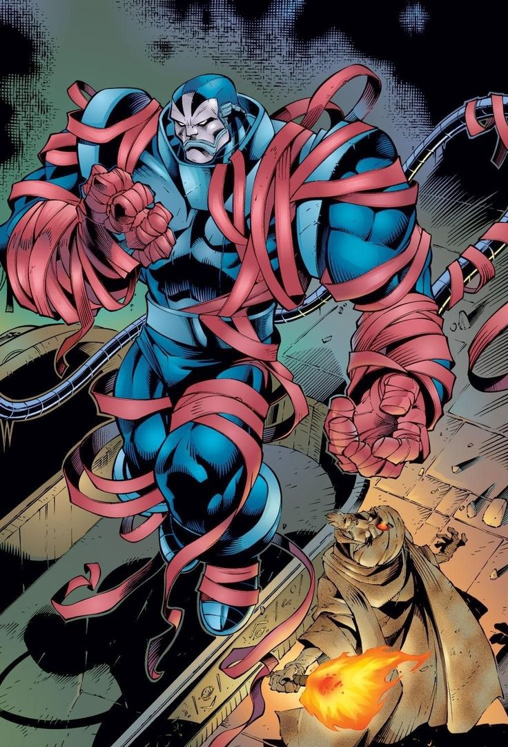 The Ruler of an Age      Did you know that Apocalypse was know as the first mutant? He comes from ancient Egypt!