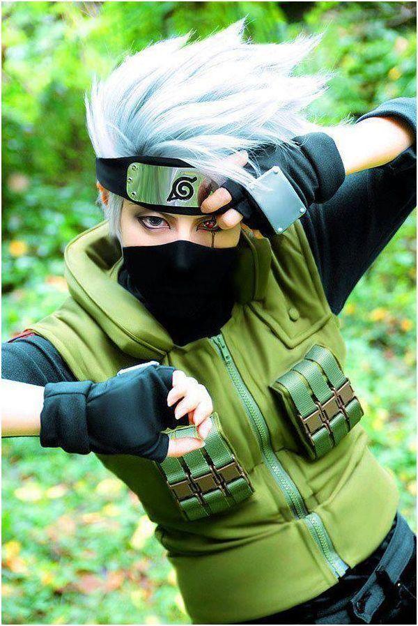 Epic Kakashi Cosplay is Epic! Cosplays Pinterest