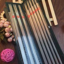 Бесплатная доставка 11 размер / комплект из нержавеющей стали прямые спицы установить 35 см крючки вязальные спицы установить размер 6 - 16(China (Mainland))