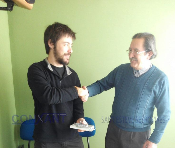El darrer guanyador de l'espai La Vitrina de Ràdio Sant Esteve és el Ferran Garzón. Felicitats Ferran i gràcies per formar part de La Vitrina.
