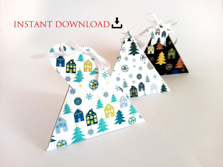 Excited to share the latest addition to my #etsy shop: instant DOWNLOAD Christmas winter wonderland printable paper favor box advent calendar set kit http://etsy.me/2jO7gTj #papergoods #housewarming #christmas #paperbox #christmasgiftwrap #diypapercraft #kidspapercraft #housespin