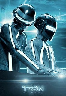 Tron AND Daft Punk... what more could anyone ask for?!