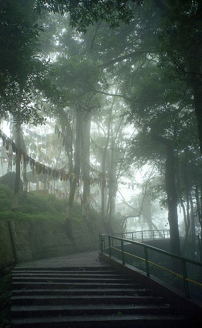 Mahakal Temple at Observatory Hill - Darjeeling, India by CarloMarxism,