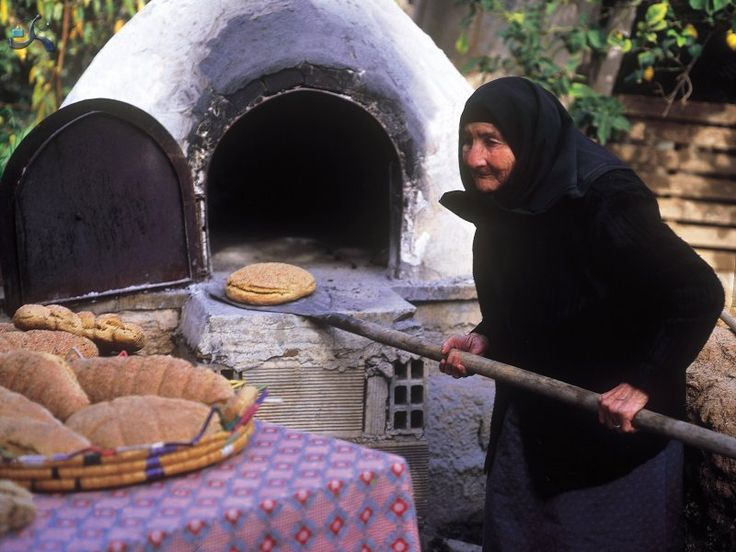Giagia makes traditional cyprus bread