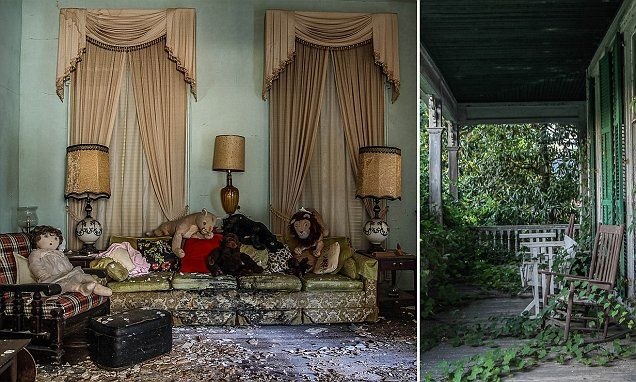 The house in Utica, Mississippi has lain abandoned since the 1980s and was built just two years after the American Civil War