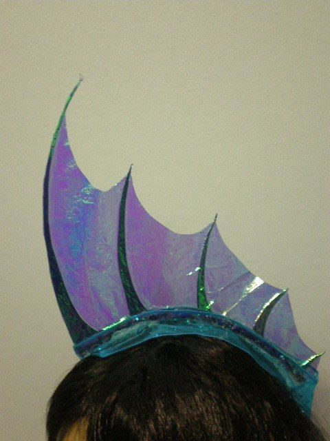 Mer-hawk - Iridescent Blue Fin (hey, @Courtney Baker Baker Skipper , don't you need a new costume? BE A MERMAID OMG)