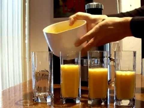 Apple Pumpkin Juice Recipe exercise drink (Jack Lalanne Juicer)
