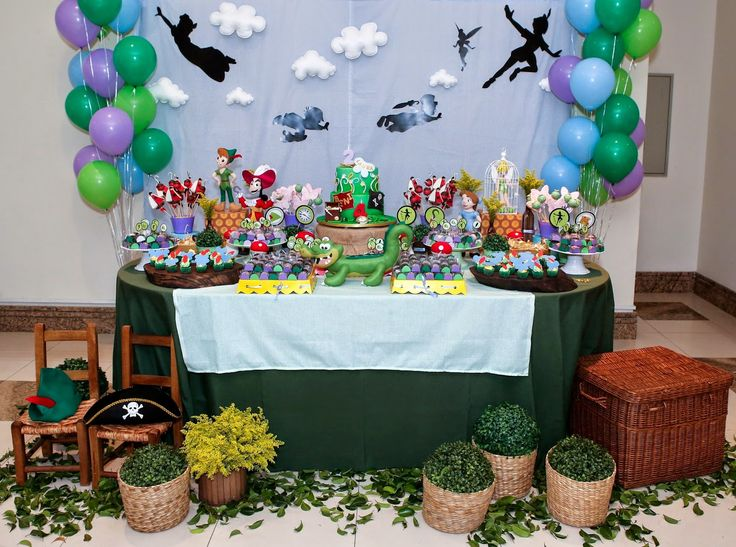Festa Peter Pan e Tinker Bell.