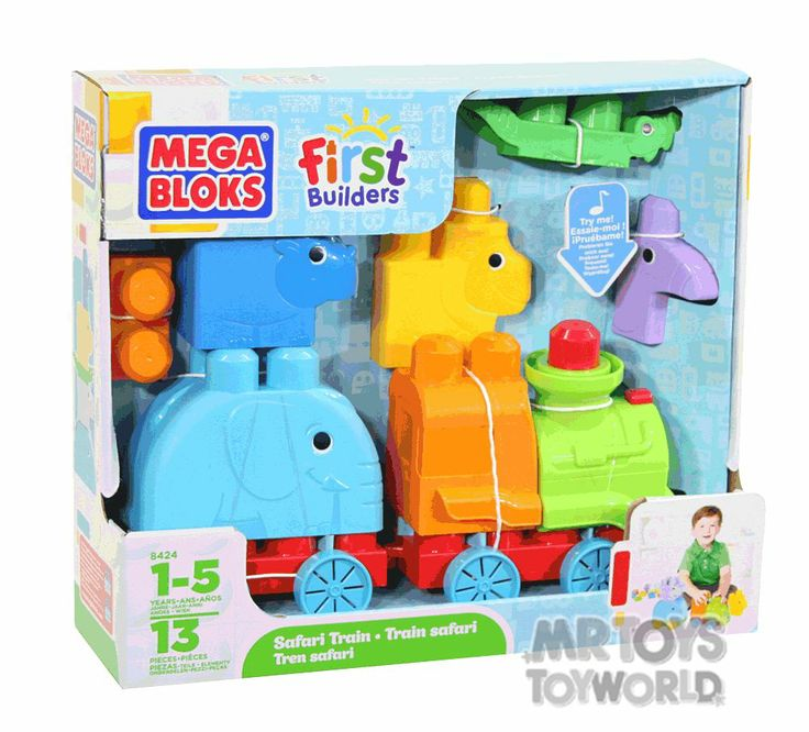 Mega Bloks Animal Safari Train -