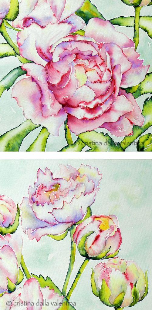 Cristina Dalla Valentina: flowers / fiori