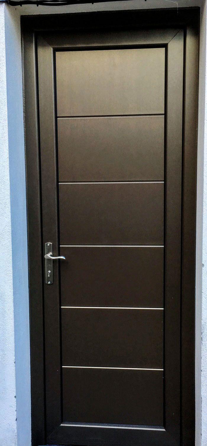 Ip7 5line Aluminio Lacado Indupanel Paneles Puertas Clasicas Ipstamp Aluminio Puertas De Bano Aluminio Diseno De Puerta De Hierro Puertas De Recamaras
