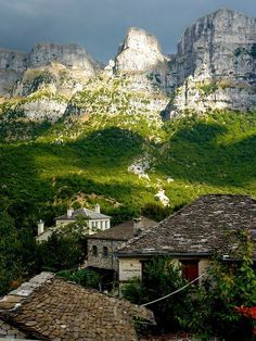 Papigo village, Epirus
