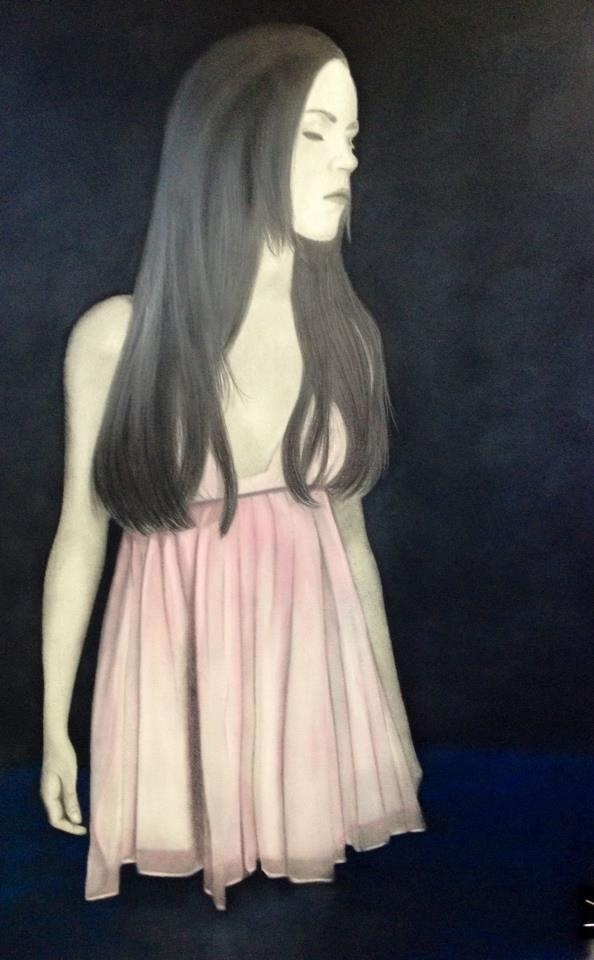Gillian Buckley - Artist - graphite drawing and water colour