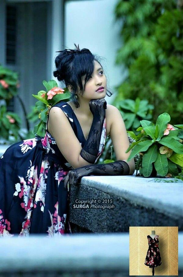 Wardrobe by Zensy Famous talent Aivia Valentina fg by Surga Photograph