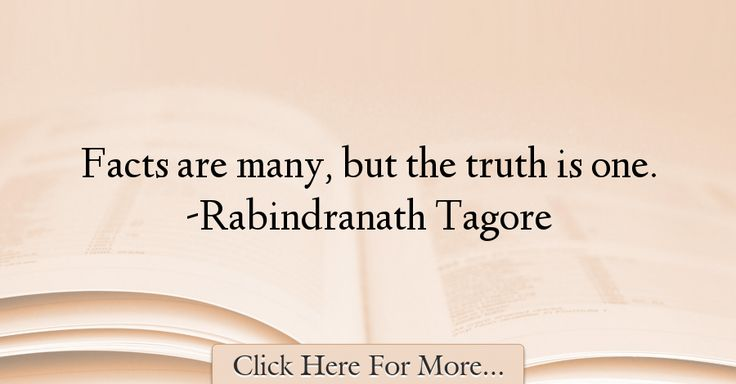 Rabindranath Tagore Quotes About Truth - 70586