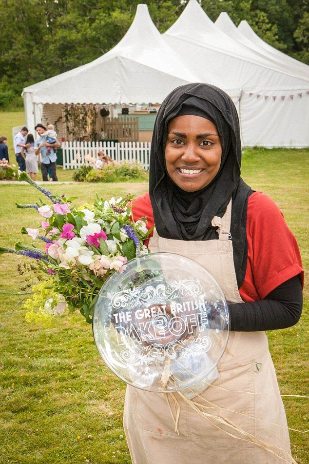 Nadiya Hussain has been announced as the winner of the 2015 Great British Bake Off!! She has made many British Muslims proud!! :D