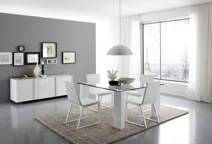 White Dining Made In Italy - pictures, photos, images