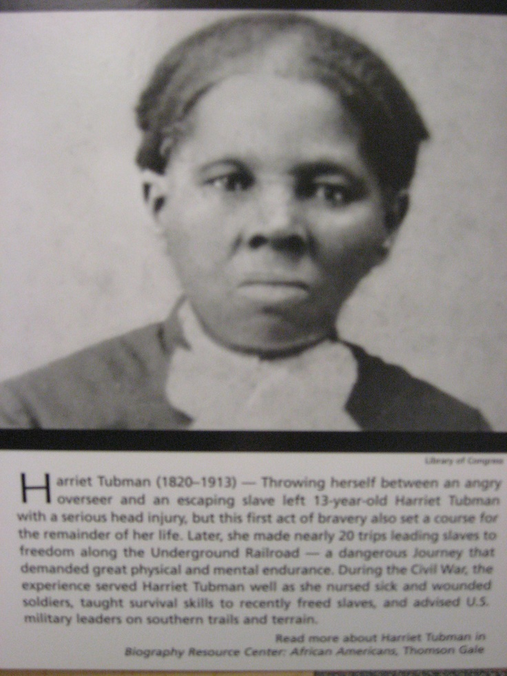 Black History Month - Harriet Tubman