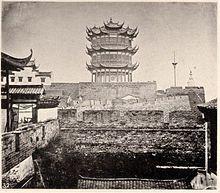 1871年の黄鶴楼。