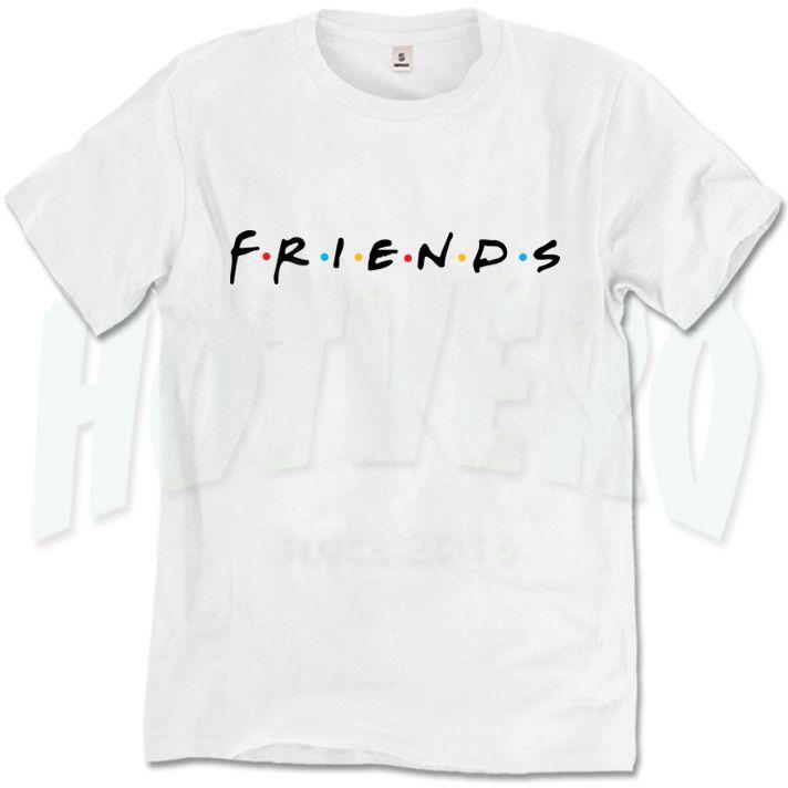 Friends Serial Tv Show Symbol T Shirt, Movie Shirts //Price: $14.00//     #cheapurbanclothing
