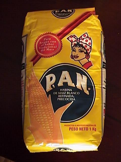 Esto me identifica como venezolana porque desde que era pequena, siempre he comido harinapan y es una de las comidas mas populares de Venezuela.