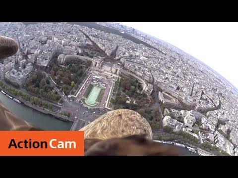 Behind the scenes -  Eagle over Paris