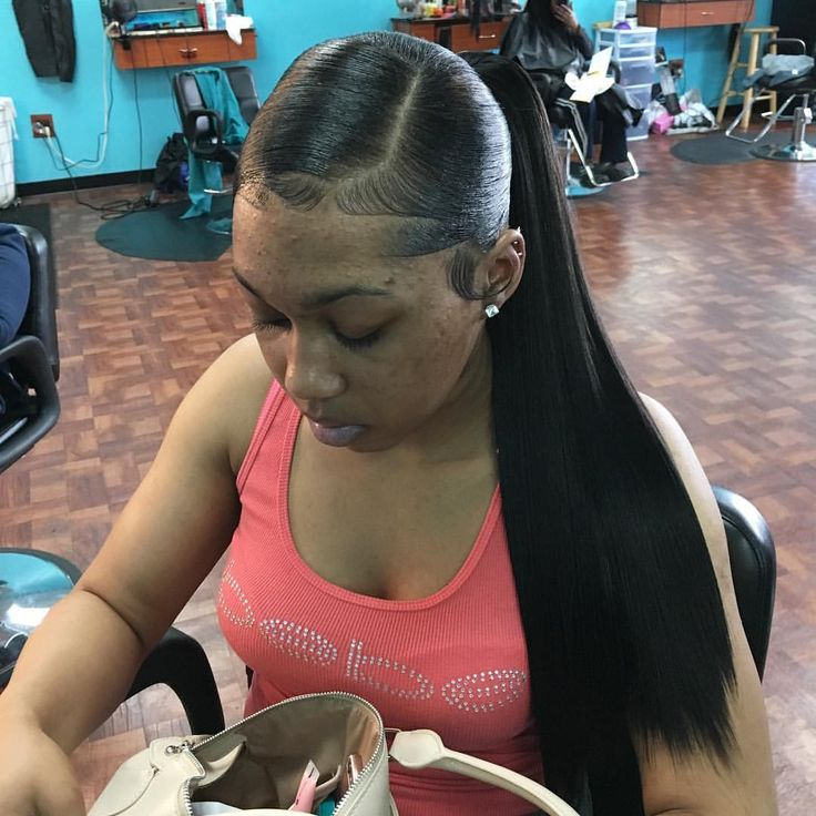 Surprising 1000 Ideas About Weave Ponytail On Pinterest Weave Ponytail Short Hairstyles Gunalazisus