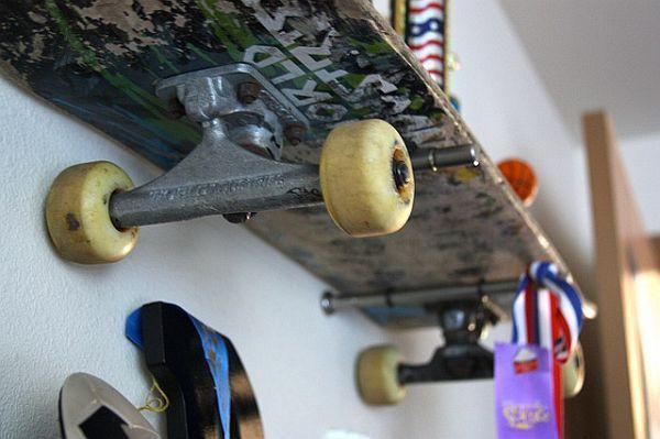 17 best images about skateboard shelves on pinterest. Black Bedroom Furniture Sets. Home Design Ideas