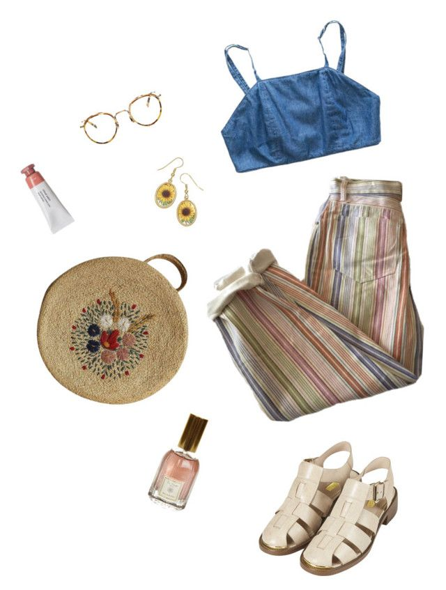 """chillin"" by hardtoluv on Polyvore featuring Topshop, Eyevan 7285 and Dr. Vranjes"