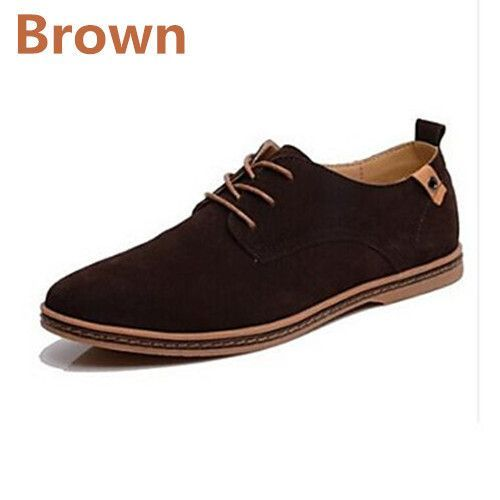 ZNPNXN Men Shoes Casual Genuine Leather Flats Shoes Men Summer Cool&Winter Warm Boots For Men Oxford Shoes Big Size 38-48