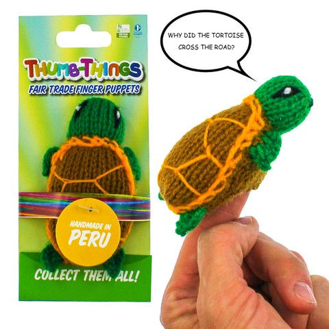 "Sale on NOW: Choose Any 10 Finger Puppets For $24.99 +200 Characters to choose from, there's ""ThumbThing"" for everyone! www.fingerpuppetsinc.com"